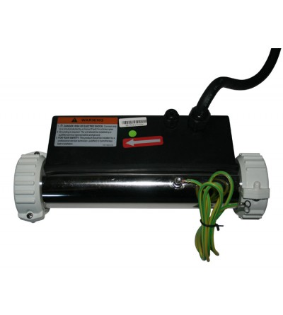 LX Flow Type Heater H30-R1 for Hot Tub 3KW Straight
