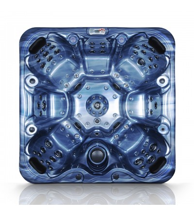 FS7.1 FusionSpa Hot Tub Blue