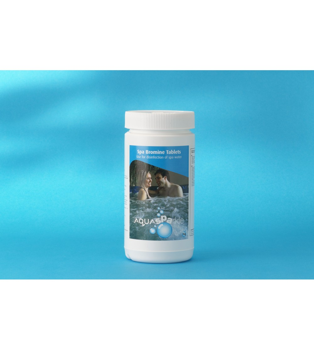 Aquasparkle Bromine Tablets 1KG